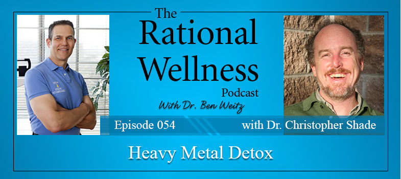 Heavy Metal Detox with Dr  Christopher Shade: Rational Wellness